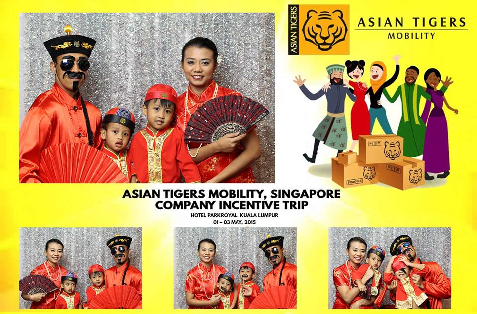 Asian Tigers Photo Booth