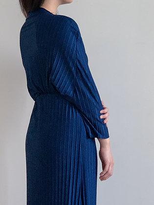 Plie Dress: Blue