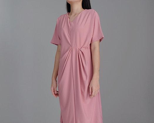 Elise Dress: Dusty Pink
