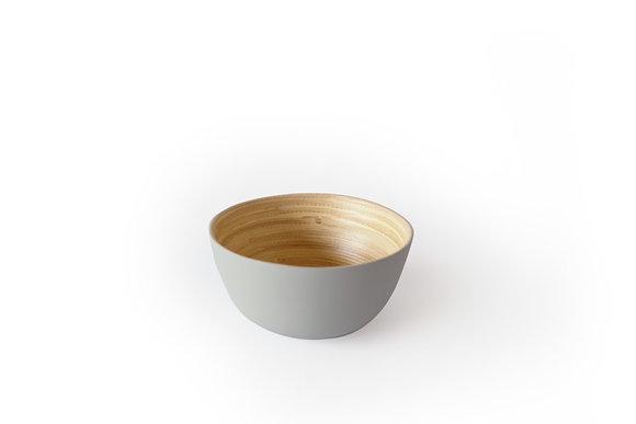Gray Bamboo bowl