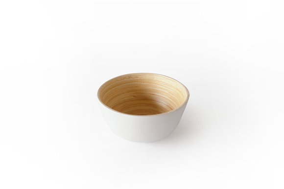 White Bamboo bowl
