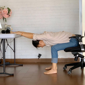 8 Stretches you can do without leaving your chair (WFH Edition)