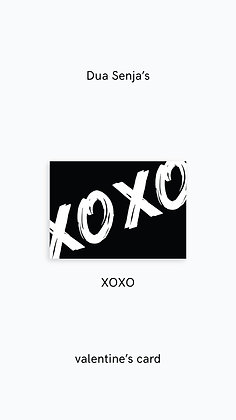 Postcard: XOXO