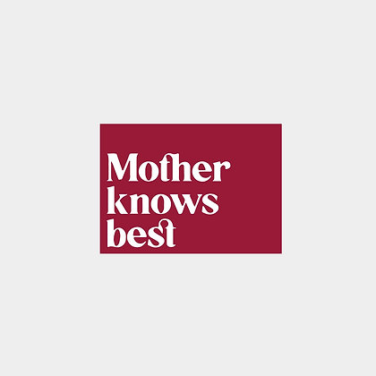 Postcard: Mother Knows Best