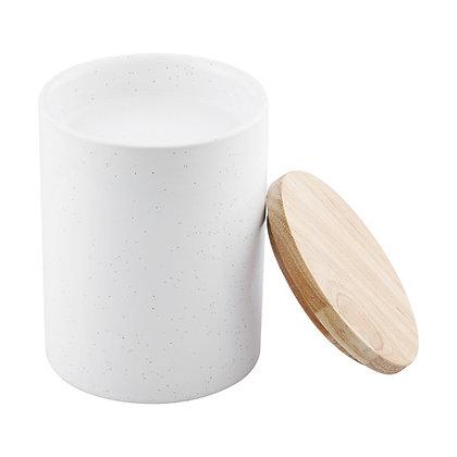 Stoneware Citronella Candle