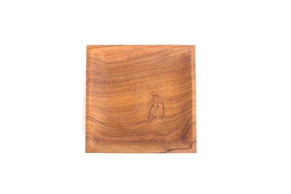 Square edge plate : Jati