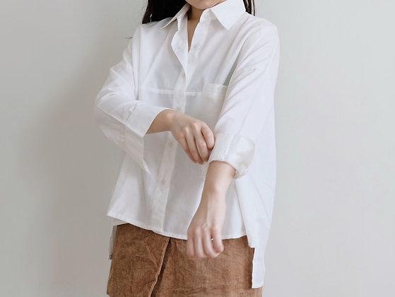 Florence Shirt : White