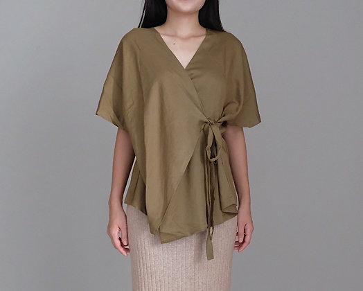 Kay Kimono: Olive Green