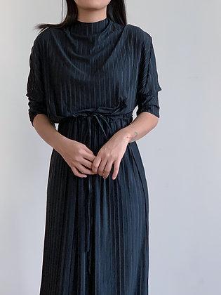 Plie Dress: Black