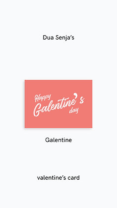 Postcard: Galentine's day