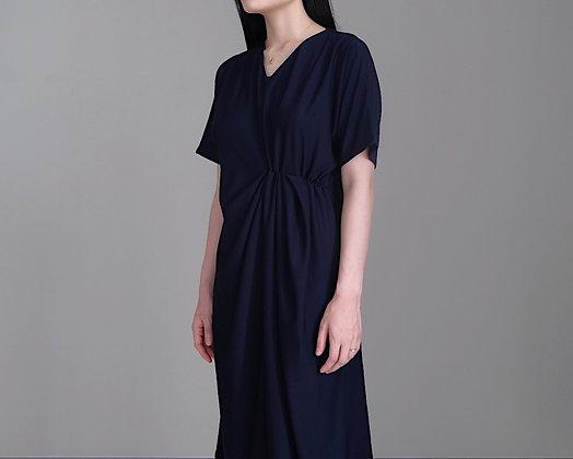 Elise Dress: Navy