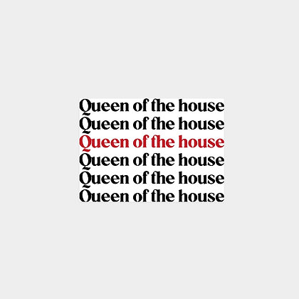 Postcard: Queen of the House