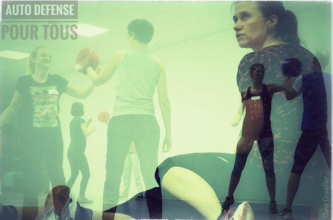 AUTODEFENSE  POUR TOUS Toulouse _ Stéphanie FALCOU _  Self défense pour femmes et hommes à toulouse