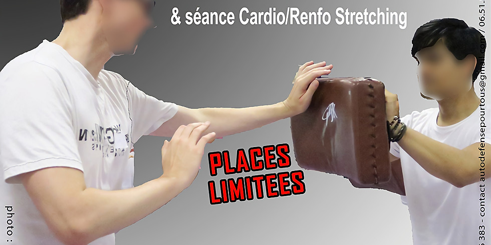 11nov 2018 : Stage de Self Defense & Seance Cardio/Renfo/Stretching