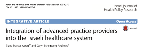 Integration of advanced practice provide