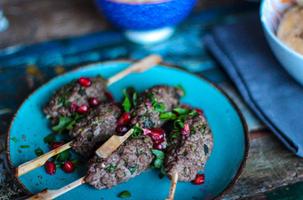 Flavorsome Friends Lamb Kebabs