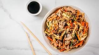 Delicious Double-Up Eggroll Stir Fry