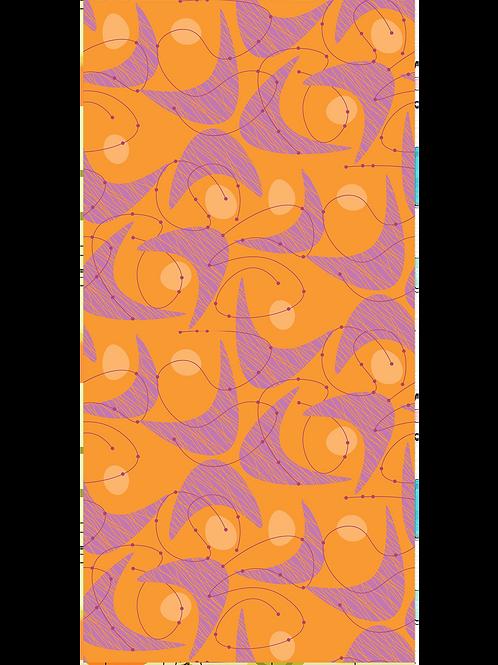 MCM Orange and Purple
