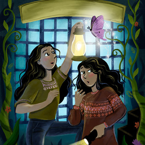Middle Grade mystery cover
