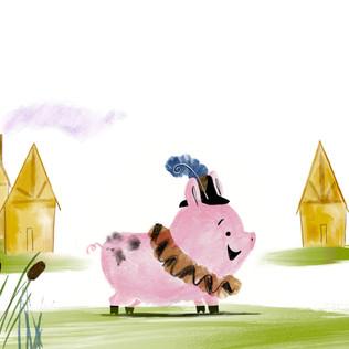 Shakespeares pig spread