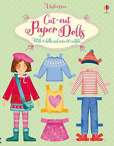 Usborne cut out paper dolls
