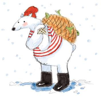 Polar Bear Fisherman