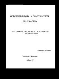 La Gobernabilidad y Costrucción de la Nación