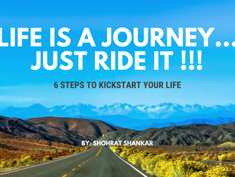 6 steps to kick start your life