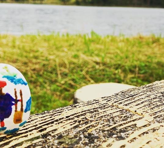 尾花沢の徳良湖で初開催 ドツキ市 楽しかったー ロケーション最高だ  #民泊工房