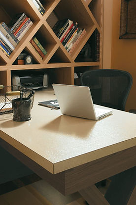 Custom Cabinet Home Office Desk
