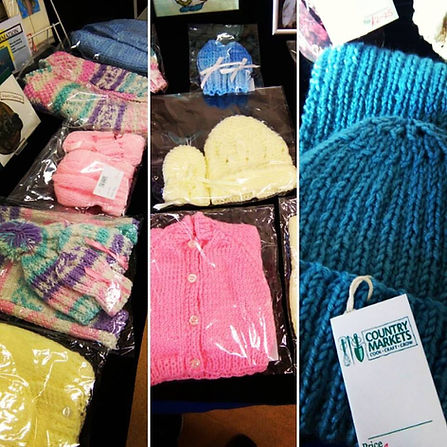 Knitwear, crochet, handicrafts, Country Markets