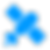 Space Solid(blue)_satellite, sputnik, ra