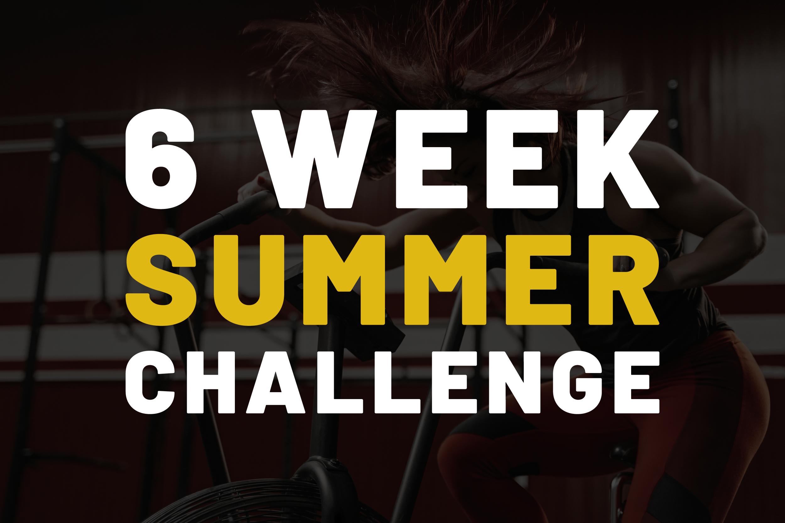 6 Week Summer Challenge