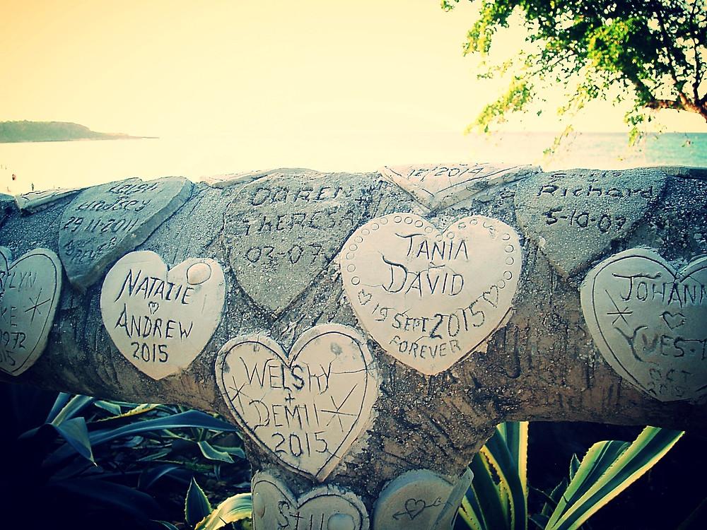 Paradisus Rio del Oro resort guard rail of Love!