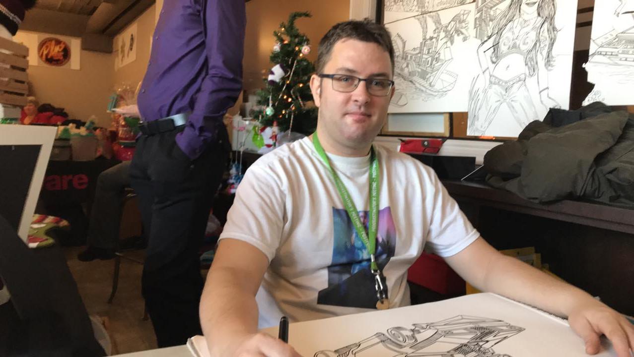 Jonathan Proulx artiste dessinateur