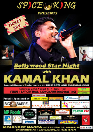 Bollywood Star Night with Kamal Khan