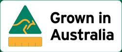 Grown in Australia logo