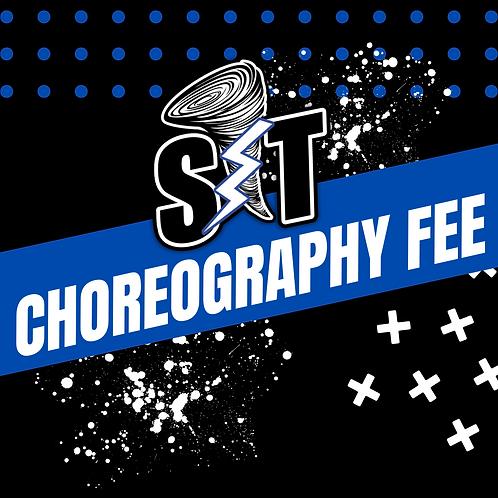 Choreography Fee - Tiny T's
