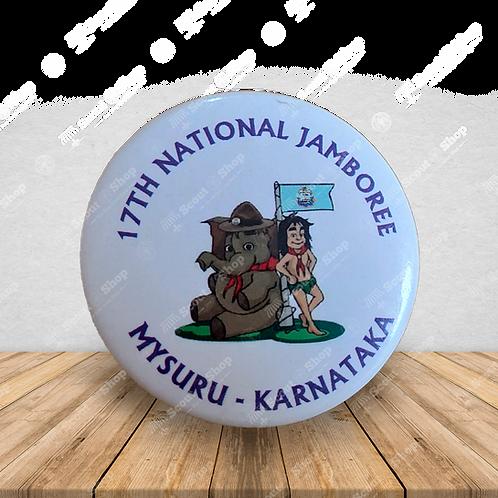 17th National Jamboree Woggle