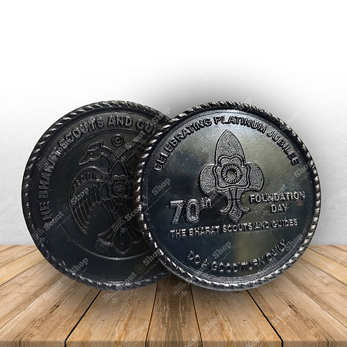 Foundation Day Coin Ruthenium Black Coated