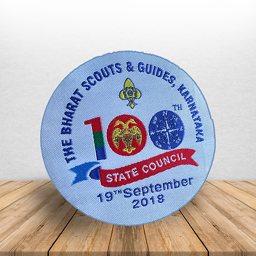 100th State Council Collectors Badge
