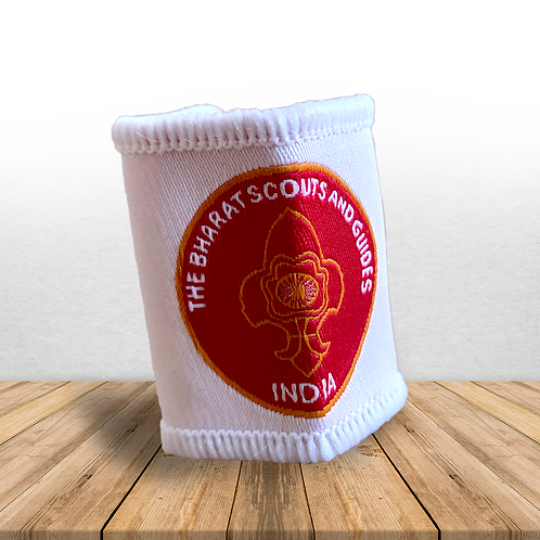 BSG India Cloth Woggle - White & Red