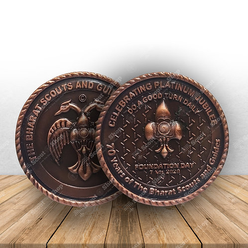 Foundation Day Coin Antique Special Edition