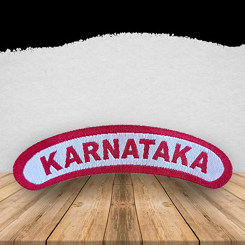 Karnataka Shoulder Badge