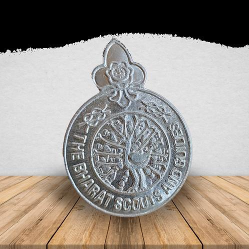 Berret Cap Metal Badge