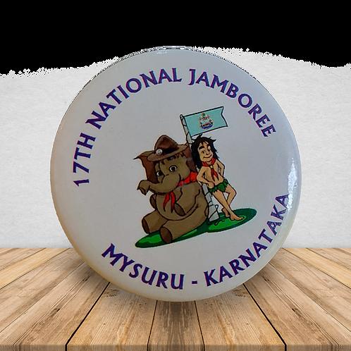17th National Jamboree - Metal Badge