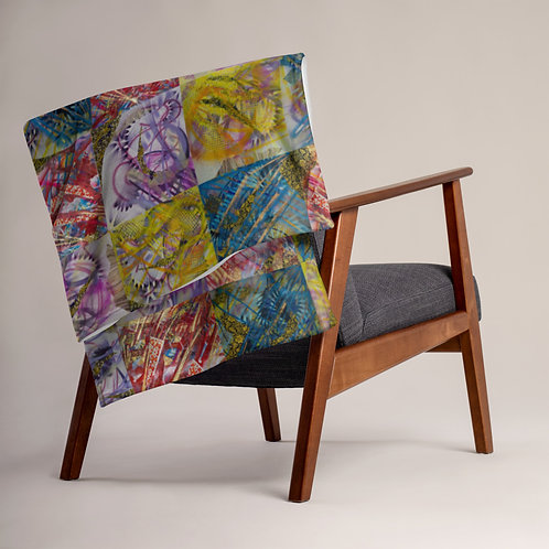 The Art of Dreaming Throw Blanket