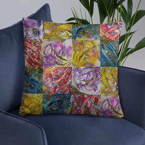 The Art of Dreaming Throw Pillow