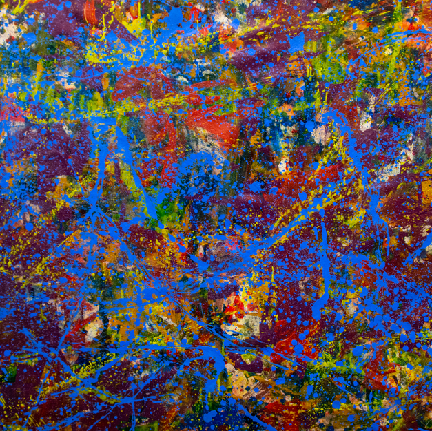 Big Purple Painting