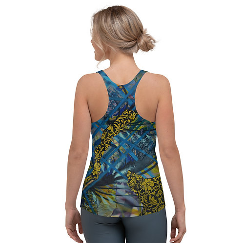 Blue Dream Racerback Tank Top (Women's Sizes)